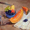 Still Life With Pumpkin by Galina Gladkaya