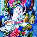 Still Life With Roses  by Trudi Doyle