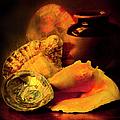 Still Life With Shells by Theresa Tahara