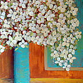 Still Life With White Flowers by Lee Owenby