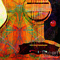 Still My Guitar Gently Weeps 20140715 Square by Wingsdomain Art and Photography