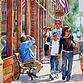 Stillwater Shoppers by Wendy Westlake