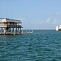 Stilt Houses-biscayne Bay by Bradford Martin