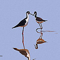 Stilts In The Blue by Tom Janca