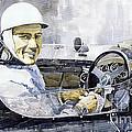 Stirling Moss by Yuriy  Shevchuk