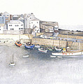 St.ives Cornwall England by Peter Laughton