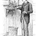 Stock Ticker, 1885 by Granger