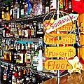 Stocked Bar At Jax by Joan Meyland