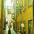Stockholm City Cafe by Ted Pollard
