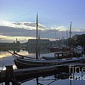 Stockholm City Harbor Dwan by Ted Pollard