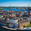 Stockholm From Above by Inge Johnsson