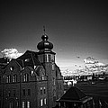 Stockholm In Dark Black And White by Ramon Martinez