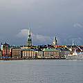 Stockholm Old Town by Torbjorn Swenelius