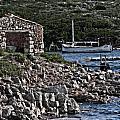Roman Port Of Sa Nitja In Minorca - Stone And Sea by Pedro Cardona Llambias