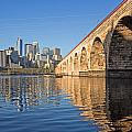Stone Arch By Day by Angie Schutt