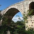 Stone Arch Of Pont St. Julien by Christiane Schulze Art And Photography