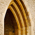 Stone Archway At Tower Hill by Christi Kraft