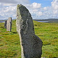 Stone At Callanish IIi by Denise Mazzocco
