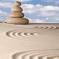 Stone balance by Dirk Ercken