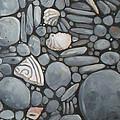 Stone Beach Keepsake Rocky Beach Shells And Stones by Mary Hubley