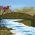 Stone  Bridge by Kenneth Thomas