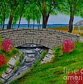 Stone Bridge by Melvin Turner