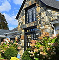 Stone Building In Connecticut by Linda Covino