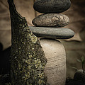 Stone Cairns IIi by Marco Oliveira