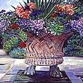 Stone Garden Ornament by David Lloyd Glover