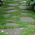 Stone Garden Walkway by Kristen Mohr