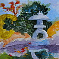 Stone Lantern by Beverley Harper Tinsley