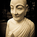 Stone Monk by Angela Wright