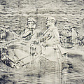 Stone Mountain Georgia Confederate Carving by Lisa Russo