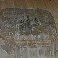 Stone Mountain Mural In Brown by James Potts