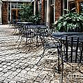 Stone Patio by Danny Hooks