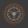 Stone Ridge Mandala by Judi Suni Hall