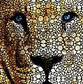 Stone Rock'd Lion 2 - Sharon Cummings by Sharon Cummings