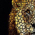 Stone Rock'd Lion - Sharon Cummings by Sharon Cummings