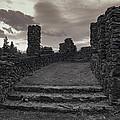 Stone Ruins At Old Liberty Park - Spokane Washington by Daniel Hagerman