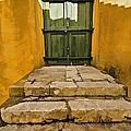 Stone Stair Entranceway  by David Letts