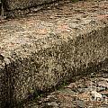Stone Stairs Fragment by Jolanta Meskauskiene