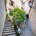 Stone Streets Of Old Trogir by Brch Photography