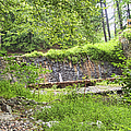 Stone Wall - Pocahontas State Park by Paulette B Wright
