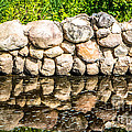 Stone Wall Reflection by Grace Grogan