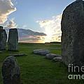 Stonehenge At Dusk by Denise Mazzocco