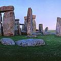 Stonehenge At Dusk by Holger Leue