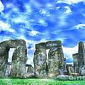 Stonehenge In The English County Of Wiltshire  by Celestial Images