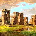 Stonehenge by Pg Reproductions