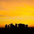 Stonehenge Sunset by Ken Brannen