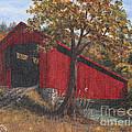 Stonelick Williams Corner Covered Bridge Clermont County Ohio 2 by Rita Miller